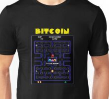 Pac-Man Bitcoin Unisex T-Shirt