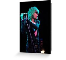 David Johansen - New York Dolls Greeting Card