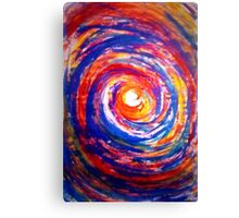 Colourful Whirl Canvas Print