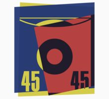Pop Art 45 Vinyl Record by retrorebirth