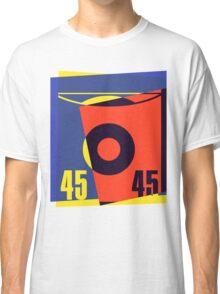 Pop Art 45 Vinyl Record Classic T-Shirt
