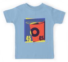 Pop Art 45 Vinyl Record Kids Tee