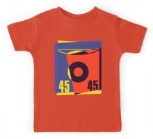 Pop Art 45 Vinyl Record Kids Tee