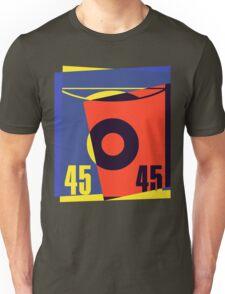 Pop Art 45 Vinyl Record Unisex T-Shirt