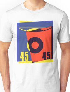 Pop Art 45 Vinyl Record Unisex T-Shirt