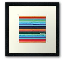 Modernist Lines Framed Print