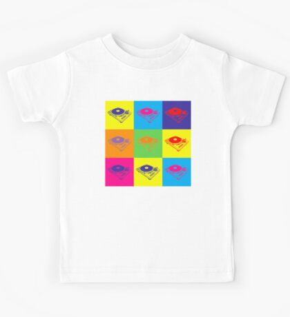 Pop Art 1200 Turntable Kids Tee