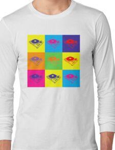 Pop Art 1200 Turntable Long Sleeve T-Shirt