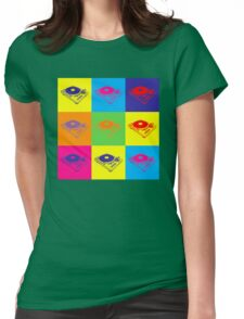 Pop Art 1200 Turntable Womens Fitted T-Shirt