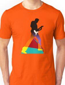 Pop Art Guitar Rocker Unisex T-Shirt