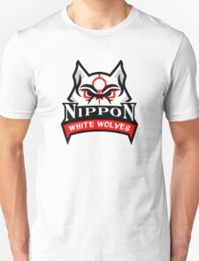 Okami White Wolves Sports Logo T-Shirt