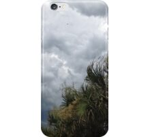 Storm Clouds and Palms iPhone Case/Skin