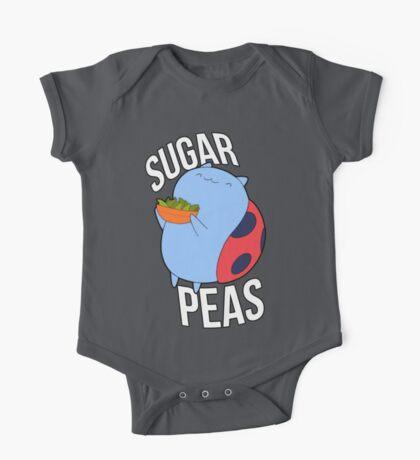 Catbug -- Sugar Peas!! One Piece - Short Sleeve