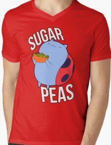 Catbug -- Sugar Peas!! Mens V-Neck T-Shirt