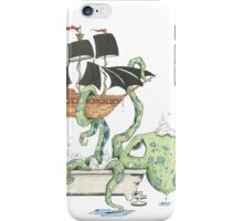 Kraken in the Tub iPhone Case/Skin