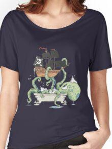 Kraken in the Tub Women's Relaxed Fit T-Shirt