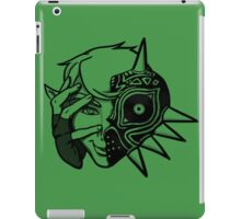 Majora Mask Link iPad Case/Skin