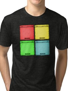 Colored Ink Gameboys Tri-blend T-Shirt