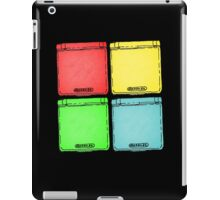 Colored Ink Gameboys iPad Case/Skin