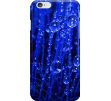 Blue Macro Moss iPhone Case/Skin