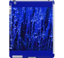Blue Macro Moss iPad Case/Skin