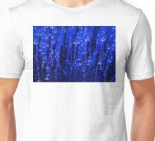 Blue Macro Moss Unisex T-Shirt