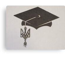 Ukrainian Graduation Canvas Print