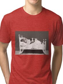Harry Whittier Frees - The Insomniac Puppy Tri-blend T-Shirt