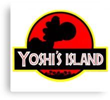Yoshi's Island Canvas Print
