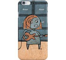 Rocker Girl iPhone Case/Skin