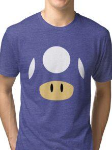 1Up & Mega Mushroom! Tri-blend T-Shirt
