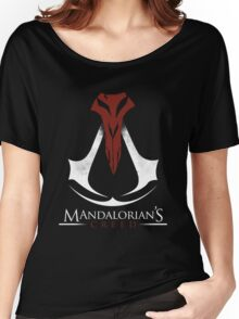 Mandalorian's Creed (black) Women's Relaxed Fit T-Shirt