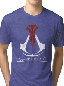 Mandalorian's Creed (black) Tri-blend T-Shirt