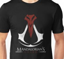 Mandalorian's Creed (black) Unisex T-Shirt