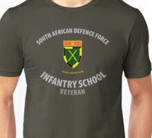 SADF Infantry School (Command Formation Bar) Veteran Unisex T-Shirt