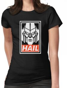 HAIL megatron! Womens Fitted T-Shirt
