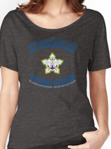South African Defence Force Veteran (Blue Text) Women's Relaxed Fit T-Shirt