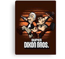 Super Dixon Bros. Canvas Print