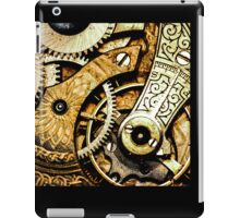 Gears and Age (color version) iPad Case/Skin