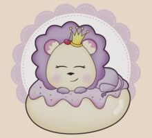 Lolly Lion is doughnut sleeping. by piccolopals
