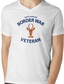 South African Defence Force (SADF) Veteran Shirt Mens V-Neck T-Shirt