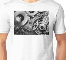 Gears and Age (black and white version) Unisex T-Shirt