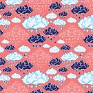 abstract pattern of clouds  by Tanor
