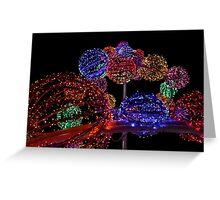 Lights of  Christmas Greeting Card