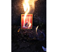 Fire Energy Photographic Print