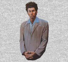 Seinfeld Cosmo Kramer Oil Painting by RobertKShaw