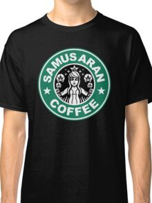 Samus Aran Coffee Classic T-Shirt