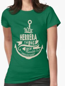 It's a HERRERA shirt Womens Fitted T-Shirt