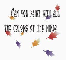 Colors Of The Wind by xanimekingdomx