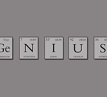 Genius Periodic Elements  by Kitty Bitty